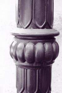 Dachrinne aus Aluguss_Detail