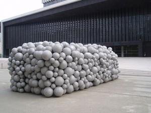Kugelskulptur-Neues Musiktheater LINZ