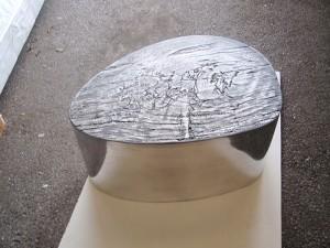 Loungetisch-Albeo aus Aluminium
