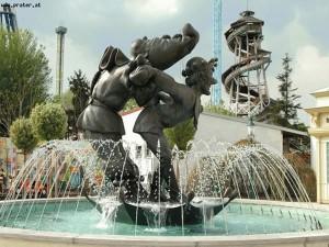 Bronzeguss-Brunnen Wiener Prater
